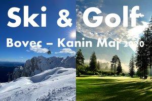 V maju na smuko in golf v Bovec
