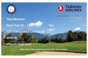 Golf licenca GZS 2020