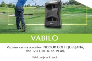 Odpira se nov indoor golf