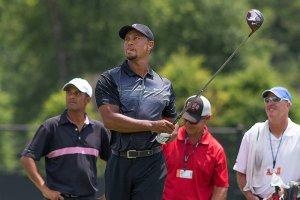 Tiger Woods v družbi Messija