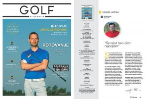 Golf Slovenija - nova revija GZS in PGA
