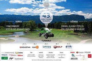 43. Golf teden na Bledu